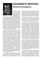 Fichier PDF contre le nucleaire