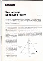 delta loop filaire