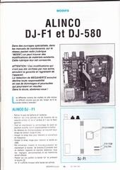 modif alinco dj f1 et dj 580
