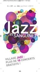 programme festival de jazz de sanguinet 2011