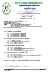 Fichier PDF sweet baby