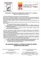 communique commun saesdis13 cgt sdis13 boycott cap du 11 juin 2011 7 juillet 2011 modifie