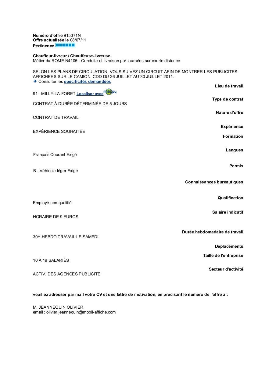 cv arnaud bouchard francais oct 2016 par primocv com