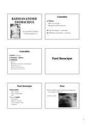 radioanat thorax