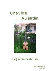 Fichier PDF viole au jardin