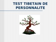 test tibetain de personalit 11 pdf