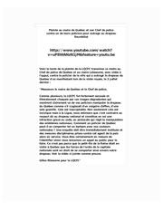Fichier PDF plainte a la ville de quebec
