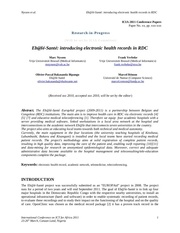 introducing electronic health records in democratic republic of congo
