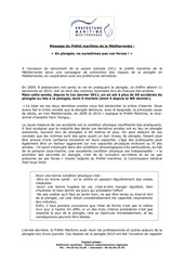 prevention accidents plongee 2011 1