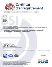 certification iso 2010 2013