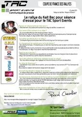 Fichier PDF communique de presse tac rallye du kalt bec pascal chevallier christophe pigne porsche cayman s gt10