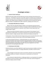 Fichier PDF avantage sociaux