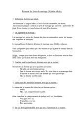 Fichier PDF resume du livre du mariage