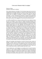 Fichier PDF lettre au maire et adjoints