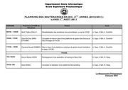 planning sout dic3 2011