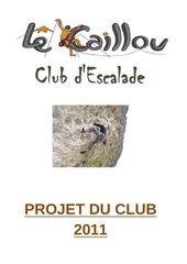 projet de club 2011