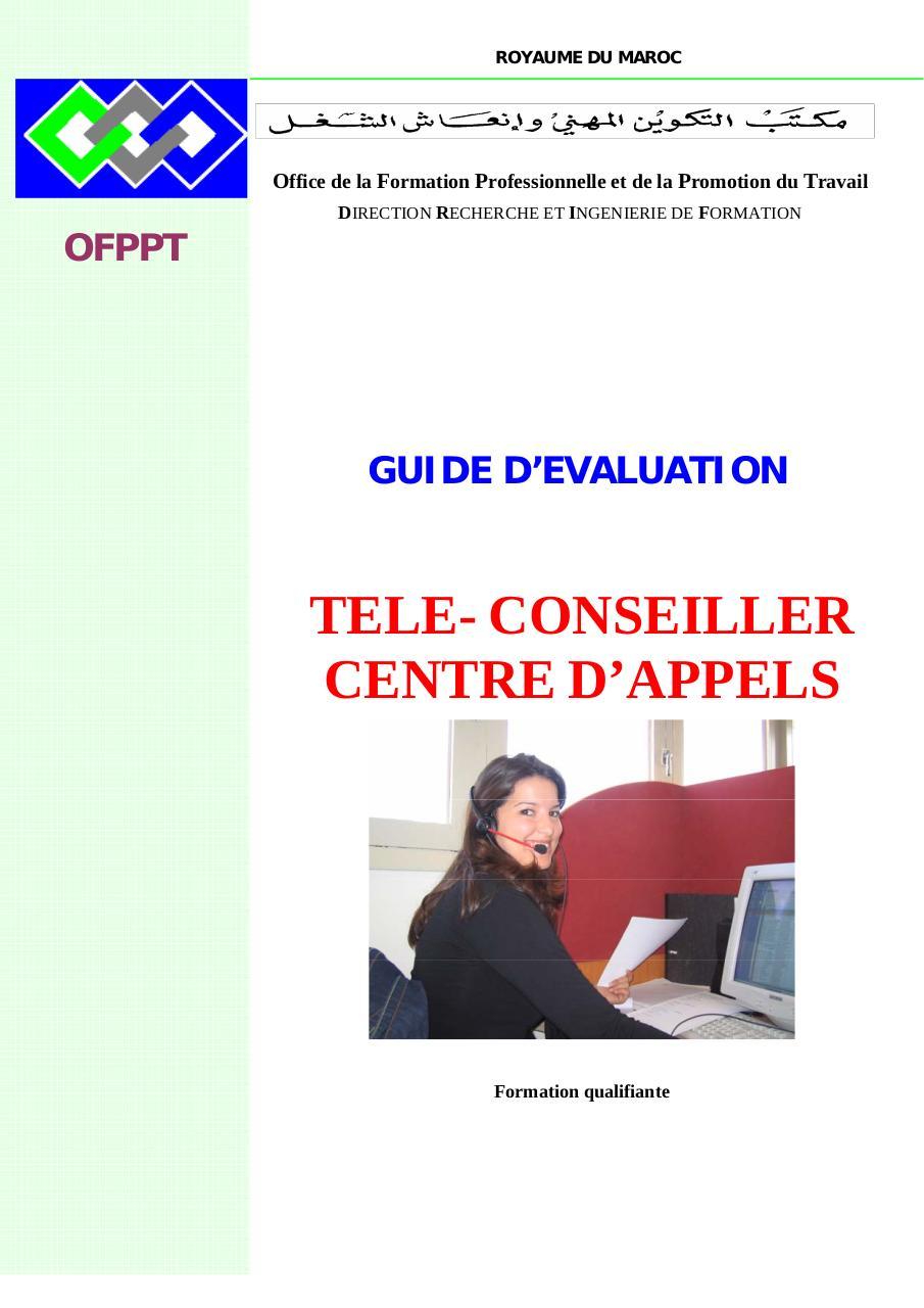Teleconseiller Ge Doc Par Jellal Teleconseiller Ge Pdf Fichier Pdf