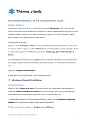 Windows 7 - Personnaliser.pdf - page 5/38