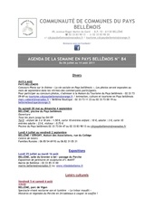 Fichier PDF agenda de la semaine en pays bellemois n 84