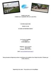 Fichier PDF tarif 2011 2012 1