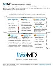 wallet portion control guide