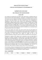 2010 02 01 marojejy rapport sur bois de rose