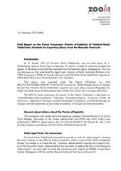2010 12 16 field report ebony concession th nagel timbertradel