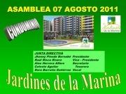 asamblea agosto 2011