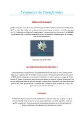billan transformice fromages