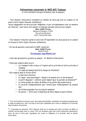 informations wei gci toulouse