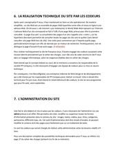 6 7 realisation technique par les codeurs administration du site