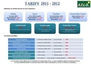 dossier inscription saison 2011 2012