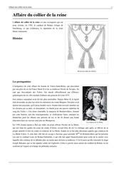 affaire du collier de la reine marie antoinette