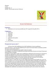 Fichier PDF candidature modo