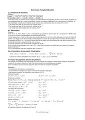 oxydoreduction exo