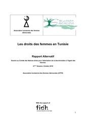 atfd les droits des femmes en tunisie