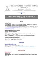 Fichier PDF agenda de la semaine en pays bellemois n 86
