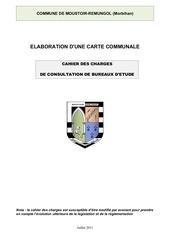 cahier des charges cc2011