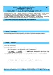lettre de candidature dc1