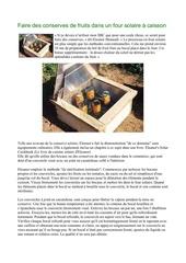 Fichier PDF faire des conserves de fruits dans un four solaire a caisson nature ecologie permaculture environnement altermondialiste decroissant bioconstruction capitalisme antimondialisation