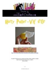 Fichier PDF harry potter vif d or