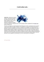 Fichier PDF online virus scan