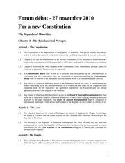 a constitution chapter 1