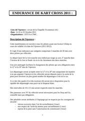 Fichier PDF endurance de kart