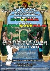 africatala mailling et blog stage saint etienne d issensac 17 09 2011