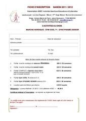 asec fiche inscription 2012