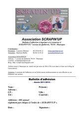 Fichier PDF bulletin adhesion scrapinup