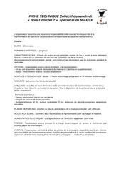 Fichier PDF fiche technique hors controle