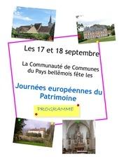 Fichier PDF programme journees patrimoine pays bellemois