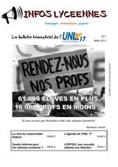 infos lyceennes 03 11